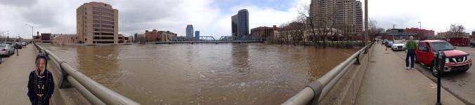 Grand River Flood Panorama